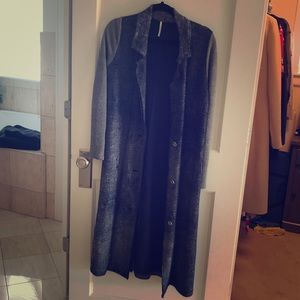 Free People duster jacket